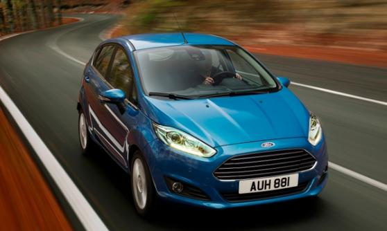 2012 Ford Fiesta - (C) Ford